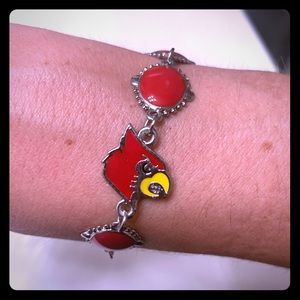 University of Louisville Cardinals Bracelet